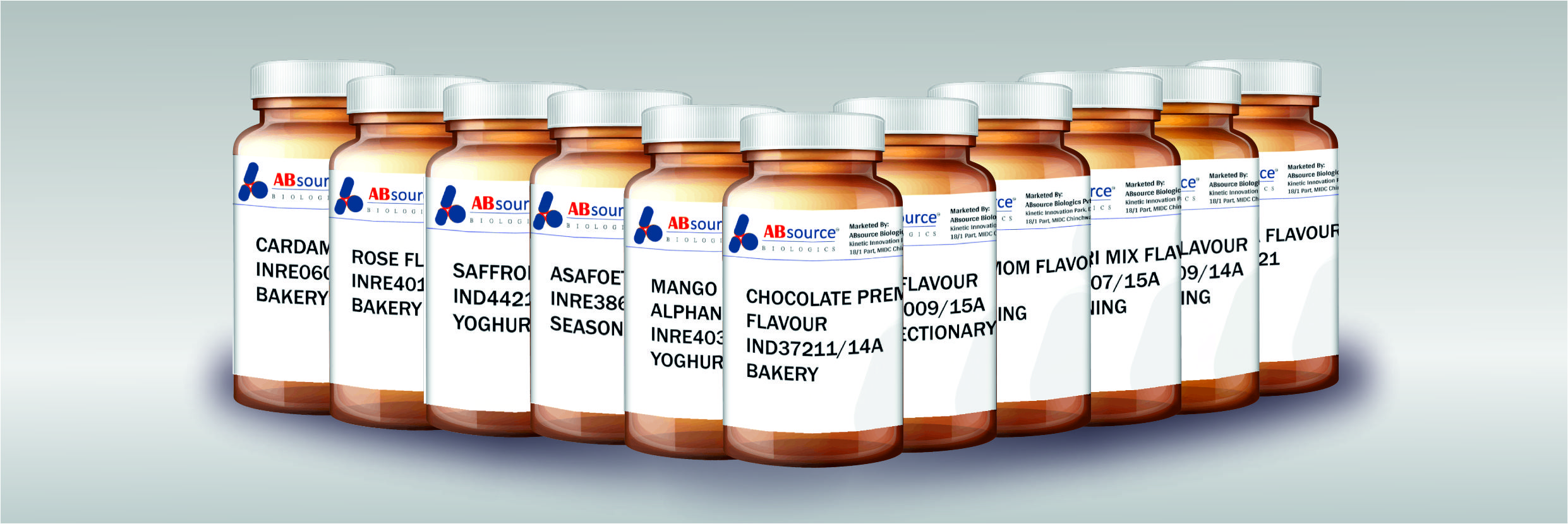 Various Flavors manufactured by Absource
